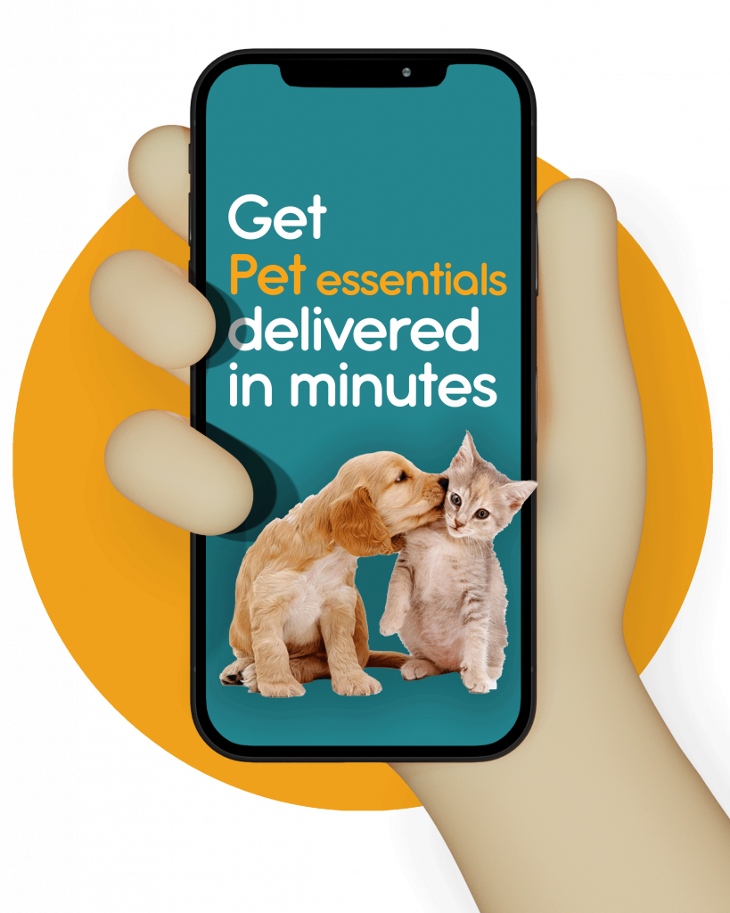 Get-pet-essentials-delivered-in-minutes