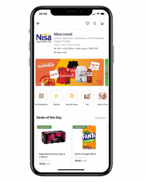 Locally-Best-Grocery store page Nisa Local
