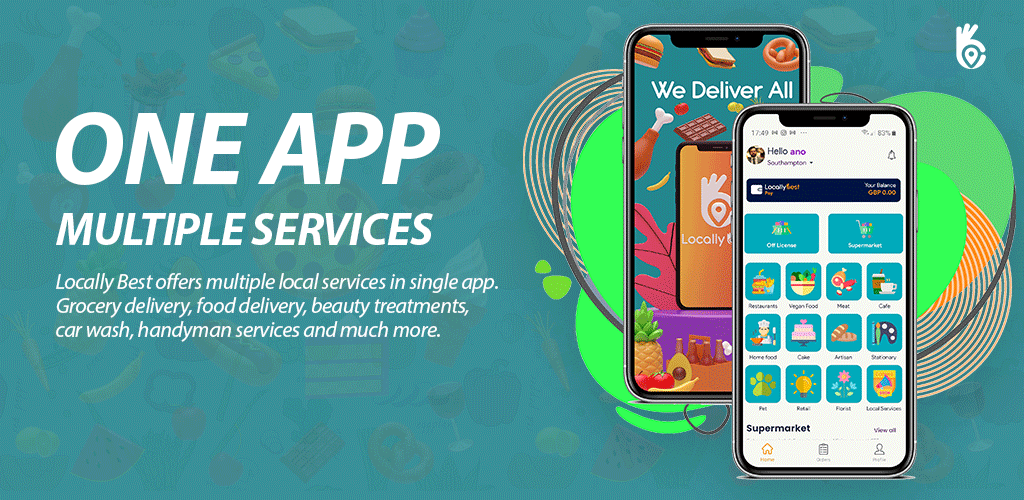 One App multiple services