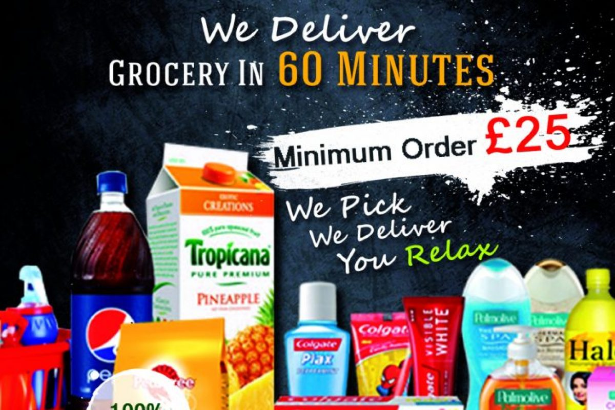 Locally Best Same Day Grocery Delivery UK